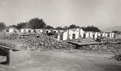 railways quarters in Quetta City, shortly after the earthquake of May 31st, 1935. (myprivatecollection6) Tags: earthquake railway quarters 1935 quetta