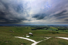 Stormclouds over Uffington