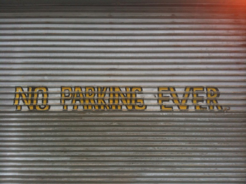 No Parking Ever