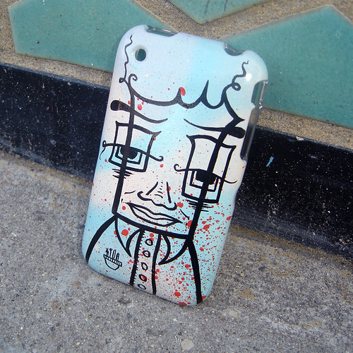 Handpainted iPhone Case, commission