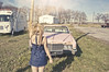 get out of my dreams (yyellowbird) Tags: pink ohio selfportrait classic abandoned girl beauty car youth vintage rust rusty cadillac explore forgotten cari frontpage