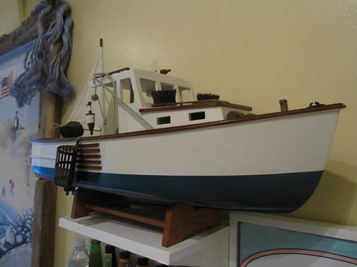 Model Lobster Boat