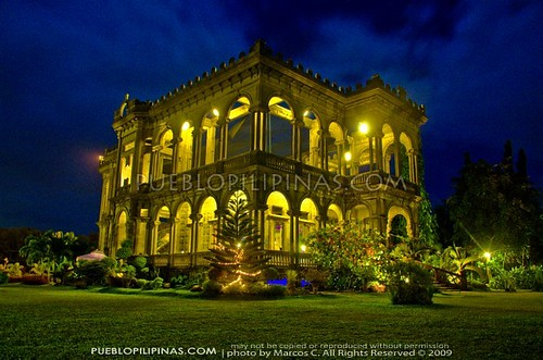 Lacson Ruins at Night 4