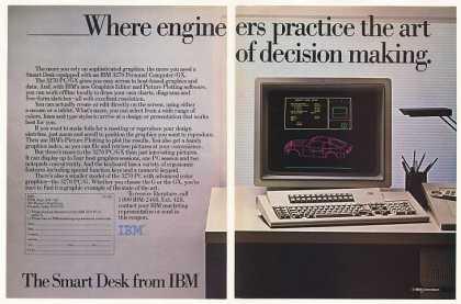 Computadora personal IBM 3270 (1985)