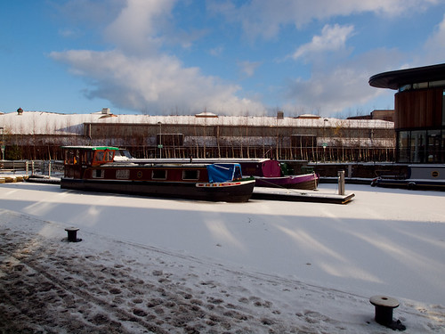 snow barges