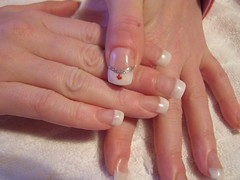 Nail art - Glitter Diamond