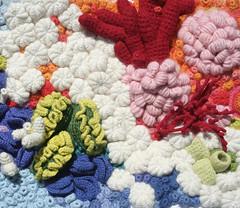 Linnaeus Coral Garden (gooseflesh) Tags: art coral garden crochet