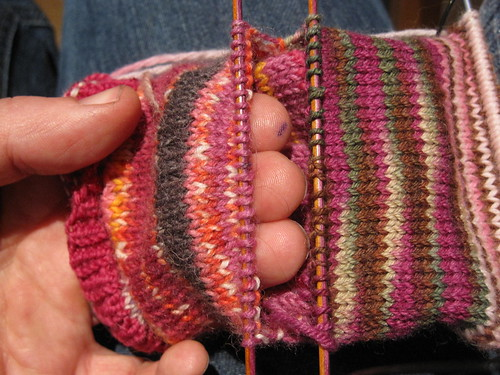 Starting afterthought heel