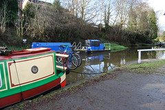 DSC_0021The Shropshire Union Canal at Audlem 170110 (Leslie Platt) Tags: canal cheshire shropshireunioncanal inlandwaterways cheshirewestchester