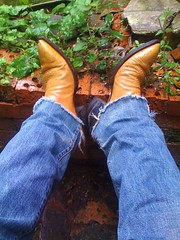 IMG_0188 (PadlockBear) Tags: leather austin hall cowboy toe boots designer mens pointed