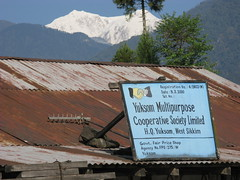 Yuksam, West-Sikkim, Sikkim, North-India, India, Indien, Asia, Asien (hn.) Tags: copyright india mountain signs mountains schilder berg si