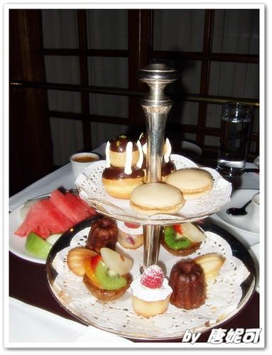 唐妮可☆吃喝玩樂過生活 拍攝的 20090620亞都麗緻下午茶_11。