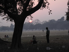 Maidan at Sunset - Kolkata, India