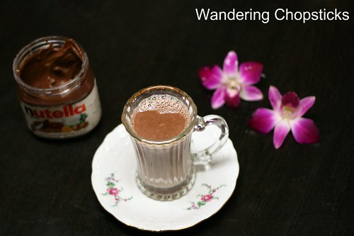 Mexican Nutella Hot Chocolate with Chilies 1