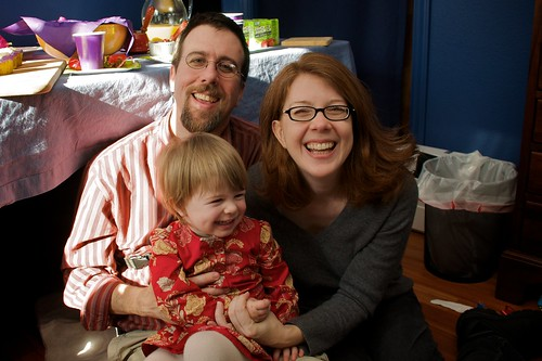 Happy Parents of a Two Year Old