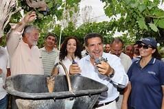 El Gobernador de La Rioja inició la Vendimia 2010