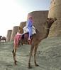 Camel Boy. (Commoner28th) Tags: blue pakistan boy sky india costume kid sand colorful child dress desert fort culture camel desi colourful punjab ahmed sindh indus thar rajasthan multan ivc agha waseem cholistan indusvalley rohi derawar indusvalleycivilization bahwalpur commoner28th jasalmir