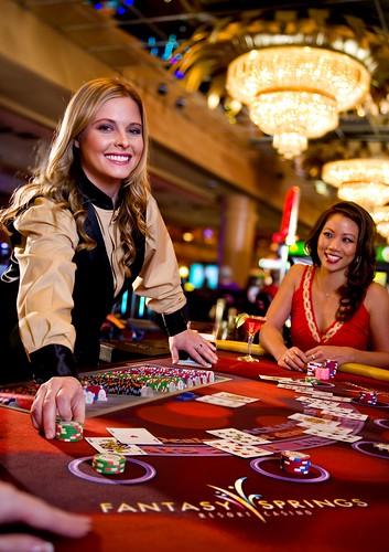 Fantasy Springs Resort Casino Black Jack Dealer