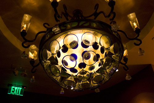 chandelier at Paradiso 37