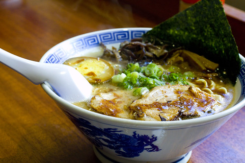 Shio with Roasted Garlic Ramen