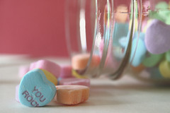 8/100 - for my husband. (my simple life {andria.g}) Tags: love hearts candy jar valenties