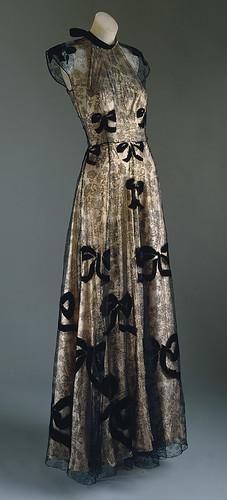 Madeleine Vionnet 1938 black