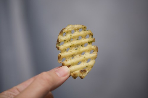 waffle fries. Alexia Waffle Fries