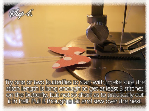 Step 4 (Tutorial- How to make a Chandelier Style Butterfly Mobile)