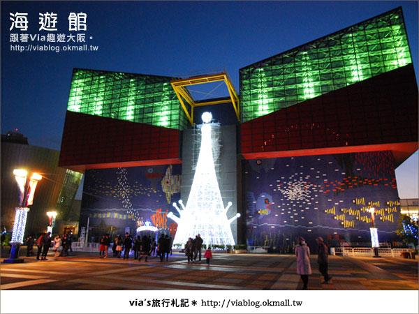 【via關西冬遊記】世界最大極的水族館~大阪海遊館32