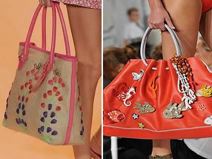 moda praia bolsas