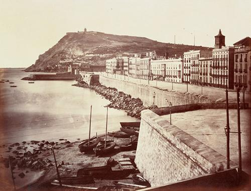 Muralla de mar (Barcelona, any 1860)