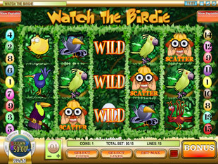 free Watch the Birdie slot expanding wild