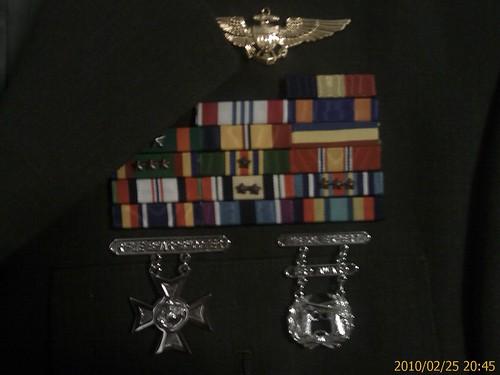 新收的美国海军陆战队尉官常服