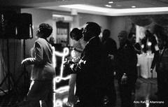 Dancing (Rafakoy) Tags: wedding party bw white black film night 35mm 50mm photo dance nikon dancing delta reception epson v600 f18 n80 delta3200 3200 nikonn80 ilford perfection ilforddelta3200 epsonv600 epsonperfectionv600photo epsonperfectionv600 aldorafaelaltamirano rafaelaltamirano aldoraltamirano