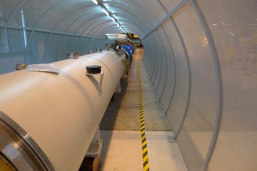 CERN tunnel mockup