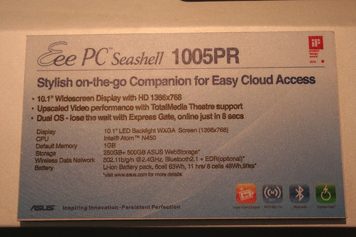 ASUS Eee PC 1005PR