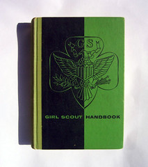 girl scout handbook (projectobjectshop) Tags: bookcover alvinlustig
