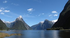 Milford Sound From Shore