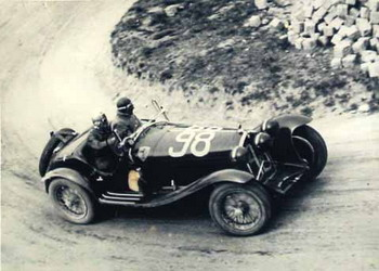 The legendary Mille Miglia car race has been held annually from 1927 ...