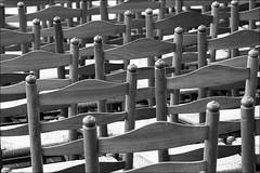 chairs2 (loop_oh) Tags: holland haarlem netherlands dutch chair chairs nederland kirche row rows nl nederlands kerk stuhl kloster sthle oranje niederlande stuehle reihe reihen janskerk