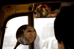 In my heart (EduDG) Tags: india love mirror heart delhi mirrors autorickshaw tuctuc