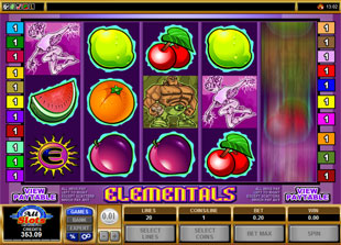 Elementals slot game online review