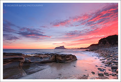 Glorious sunset at Baladrar Cove (II) (Salva del Saz) Tags: longexposure sunset sea espaa seascape rock marina canon eos mar twilight spain mediterranean mediterraneo angle dusk cove wide alicante coastal gran angular ultra cala 1022 extremo ifach efs1022mm peon benissa penyal singleraw singhray 40d salvadordelsaz salvadelsaz darylbenson baladrar nd3reversegraduated