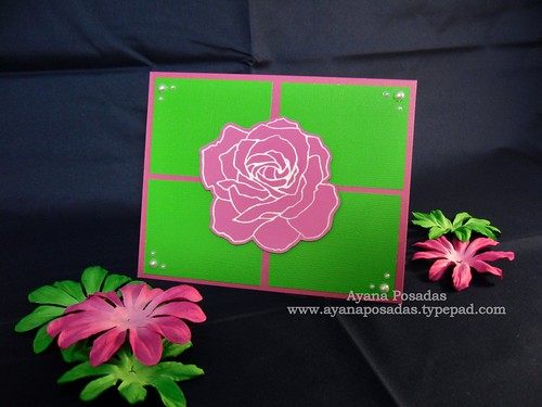 Fifth Avenue Floral Card
