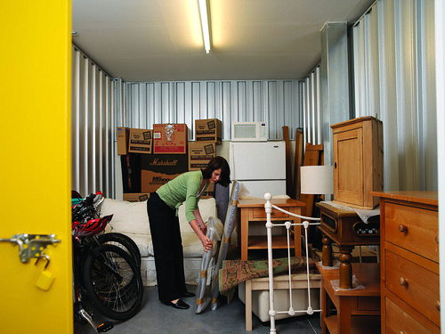 Tips and Tricks: Declutter with self storage