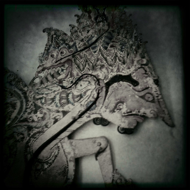 Balinese Shadow Puppet (Hipstamatic capture)