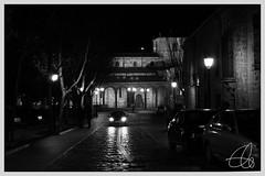 san vicente noche (M.Gloria Garca) Tags: en blanco noche san y negro nocturna vicente avila misteriosa