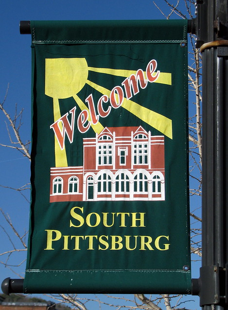 South Pittsburg town banner