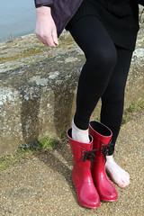 IMG_0878 (Glimmer Rat) Tags: wellies rubberboots wellingtons gumboots rainboots gummisteifel