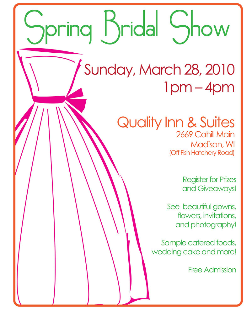 Spring 2010 Bridal Show Poster